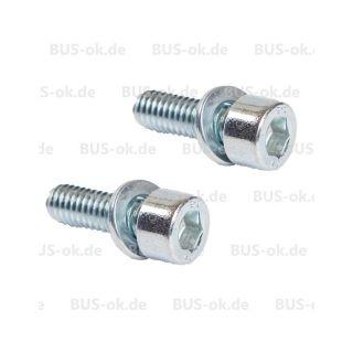 T2 Schrauben für Türfeststeller 8.67 - 7.76 Paar Verglnr. N147032 in T2-1968-1979, T2 Schrauben und Befestigungsmaterial, T2 Türen. Zylinderschrau
