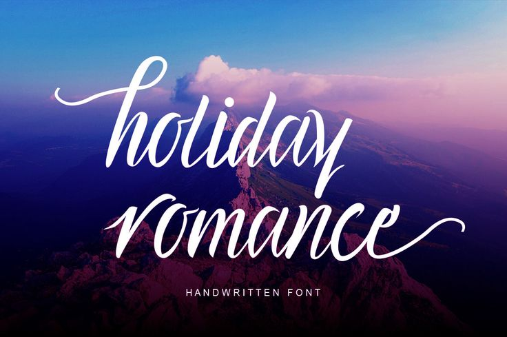 """Check out my @Behance project: """"Holiday Romance Script"""" https://www.behance.net/gallery/45101963/Holiday-Romance-Script"""