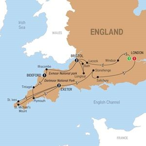 Visit places the area is famous for, including Stonehenge and spots captured in the Harry Potter movies.
