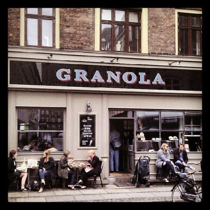 Granola in Frederiksberg, Region Hovedstaden