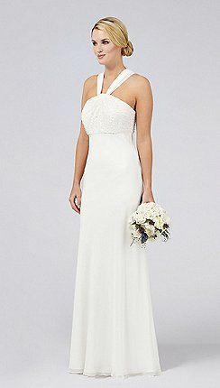 Occasion Ivory 'Countess' wedding dress http://www.weddingheart.co.uk/debenhams---wedding-dresses.html