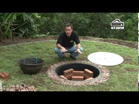 Builders DIY: Designing your Garden - Adding a Water Feature - YouTube