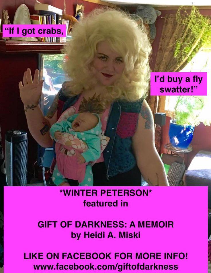 Promotional meme for Gift of Darkness: A Memoir by Heidi A. Miski #memoirs #memes #STDs #LGBT