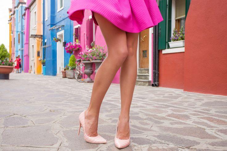 """#3膝見えスカートも怖くない重力に負けそうな""""ひざ上肉""""はZポーズで引き締めて"""