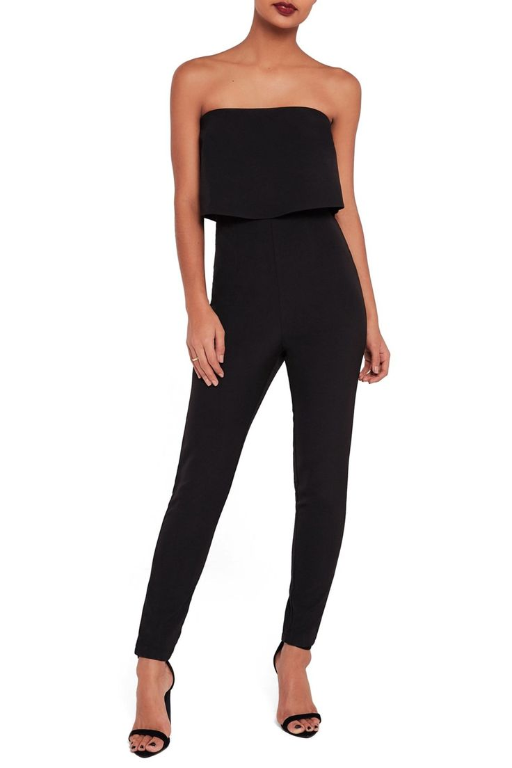 Strapless Jumpsuit by Missguided on @nordstrom_rack