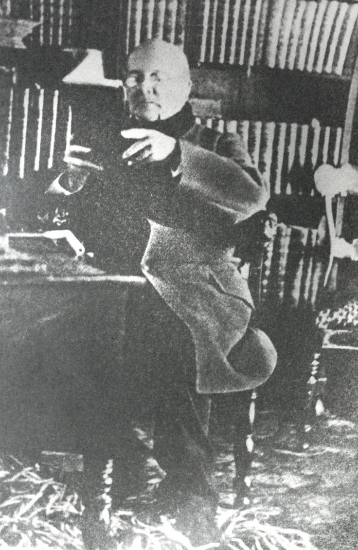 Andrés Bello, 1860: el gramático venezolano de nacimiento y chileno de corazón.