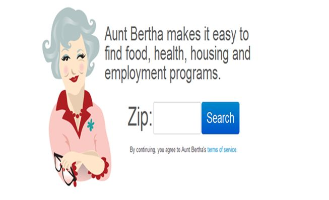 Aunt Bertha: The Google of Social Services - http://www.socialworkhelper.com/2013/01/28/aunt-bertha-the-wikipedia-of-social-services/?Social+Work+Helper via Social Work Helper
