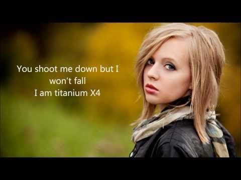 Titanium - David Guetta feat Sia by Madilyn Bailey Lyrics