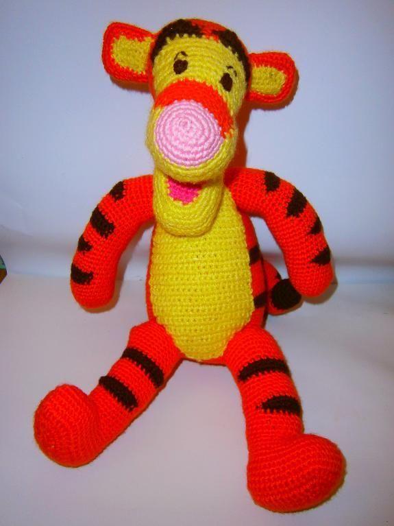 TIGGER - PDF crochet pattern | Toys, Crochet and Crocheting