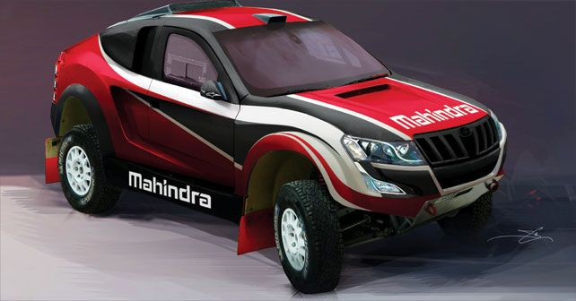 ‪#‎Mahindra‬'s intentions of taking part in the gruelling Dakar Rally revealed