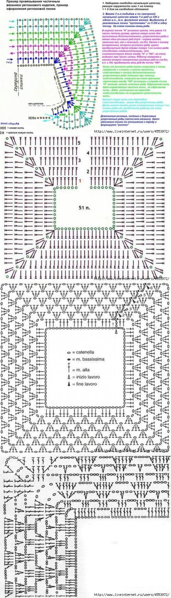 мышка крючком легкая схема