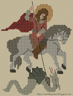 Once the spring out of my head ...: St. George the Dragon Slayer