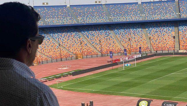 وزير الرياضة لم نحسم حضور الجماهير في نهائي القرن الإفريقي حتى الآن Soccer Field Baseball Field Field