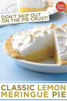 Dies ist das einzige Zitronen-Baiser-Kuchen-Rezept, das Sie jemals brauchen werden.   – Pies