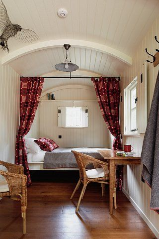 Welsh Curtains | Huts in the Hills