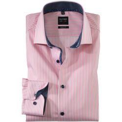 Olymp Level Five Hemd, body fit, Royal Kent, Rosé, 44 Olymp