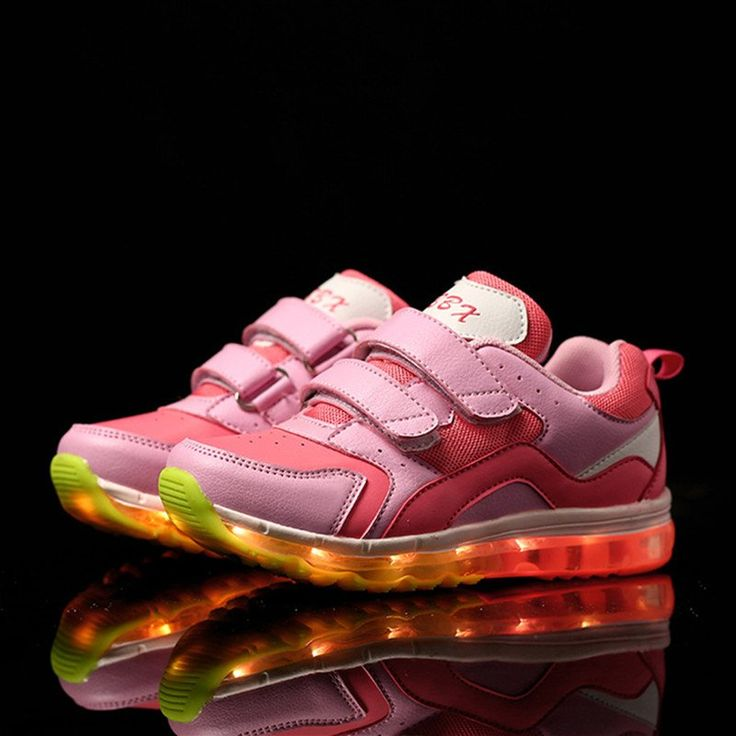 Fashion 7 Colors Kids Sneakers LED Shoes $49.84