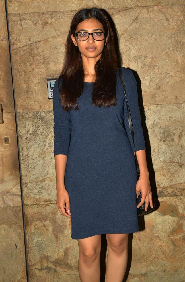 Radhika Apte at the Indian premiere of Amy. #Bollywood #AmyMovie #Fashion #Style #Beauty