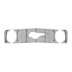 2007 Ford Mustang  Description:Bolt-On Billet Grille, High Polished Finish  Dimensions:10.00x4.75x39.00   Discount Price:$69.99   Fits:2007 Ford Mustang GT  2009 Ford Mustang GT  2008 Ford Mustang GT  2006 Ford Mustang GT  2005 Ford Mustang GT  Color:Polished  Finish:High Polished Finish   Part No:BG-262