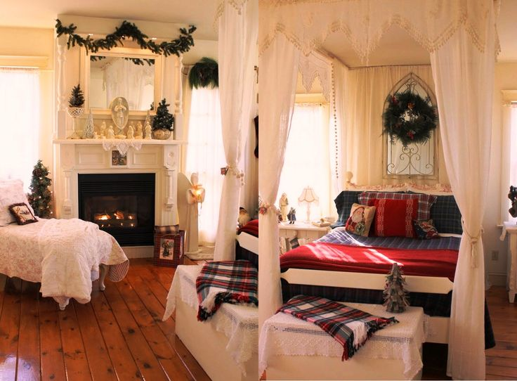 25+ Best Ideas About Christmas Bedroom Decorations On Pinterest
