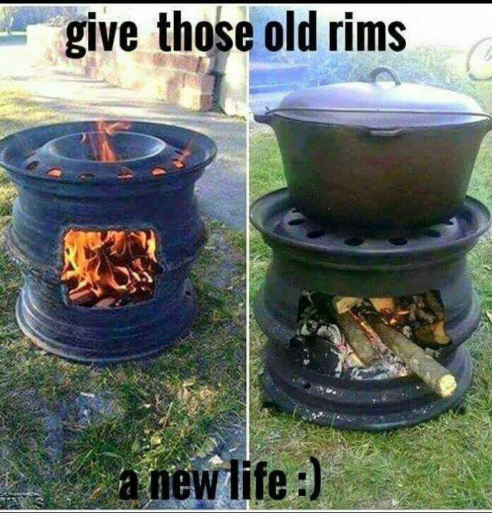 Great camping stove/firepit