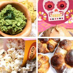 Day of the Dead food recipes - Pan de muerto, pico de gallo!