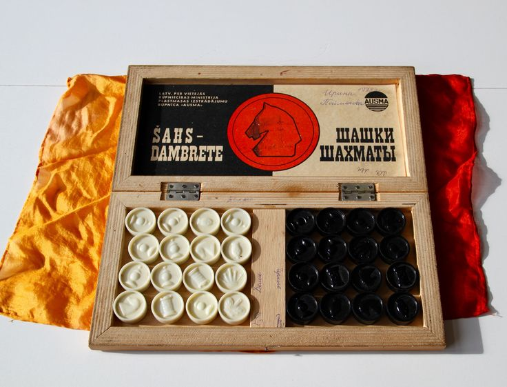 Vintage Original Wooden Chess Set From Soviet Union - Riga(Latvia) - 1975 - Rare and Beautiful! (15) von SovietGallery auf Etsy