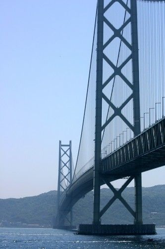 Tarumi Ward, Kobe, Hyogo Prefecture, Japan 明石海峡大橋