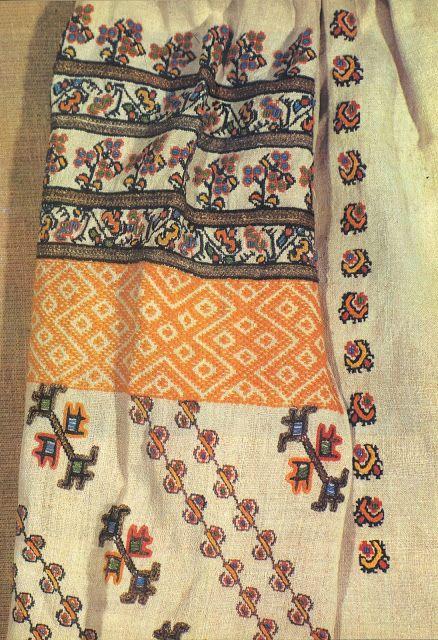 Costume and Embroidery of Bukovyna, Ukraine,  Morshchanka