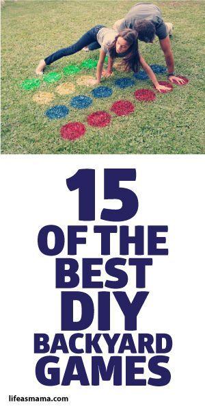 15 Of The Best DIY Backyard Games