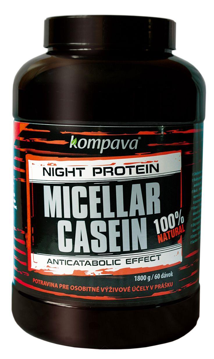 NOVINKA - Micellar Casein - nočný proteín s vysokou nutričnou hodnotou a long-lasting efektom