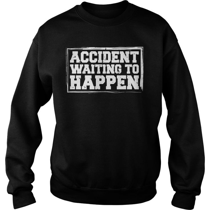 Accident Waiting To Happen Football Funny T-Shirts #gift #ideas #Popular #Everything #Videos #Shop #Animals #pets #Architecture #Art #Cars #motorcycles #Celebrities #DIY #crafts #Design #Education #Entertainment #Food #drink #Gardening #Geek #Hair #beauty #Health #fitness #History #Holidays #events #Home decor #Humor #Illustrations #posters #Kids #parenting #Men #Outdoors #Photography #Products #Quotes #Science #nature #Sports #Tattoos #Technology #Travel #Weddings #Women