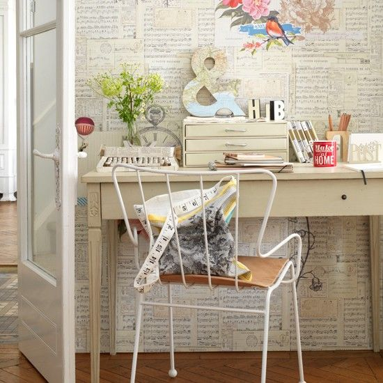 Creative home office | Country home office ideas - 10 of the best | Home Office | PHOTO GALLERY | Country Homes & Interiors | Housetohome.co.uk