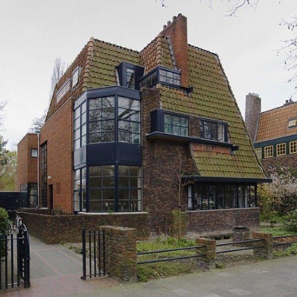 Woonhuizen, Nassaulaan, Groningen 1928