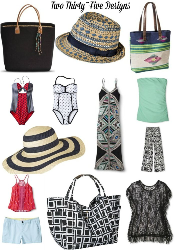 Casual Friday Link Up~Summer Beach Wear - Two Thirty-Five Designs
