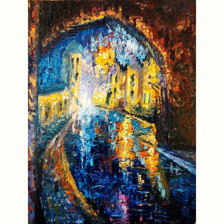 River at Twilight // oil on 16x20 canvas  LINK IN BIO  #oilpainting #amsterdam #netherlands #instaartist #instagrambham #instaart #river #landscape #cityscape #nature #travel #bridge #canal #talentedpeopleinc #creativegallery #featuremyart #worldofartists #proartists #nofilter #colorful #oil #painting #art #paletteknife #birmingham #nightlife by lyleannaart