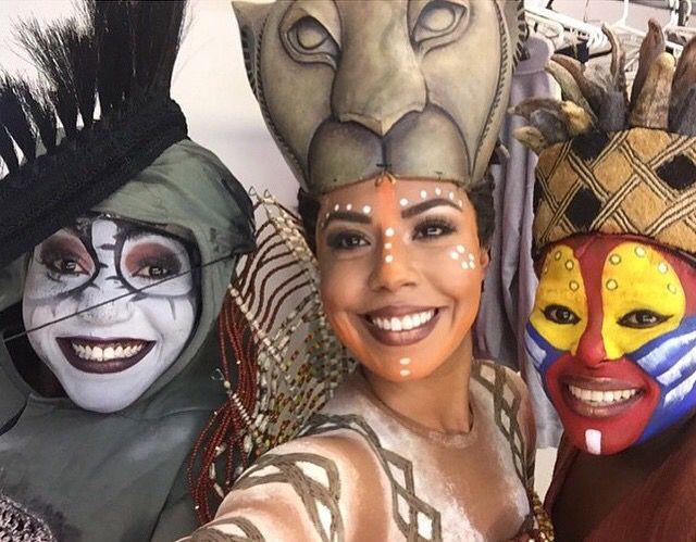 La primera foto backstage de El Rey Leon Mexico!! Que emocion!!