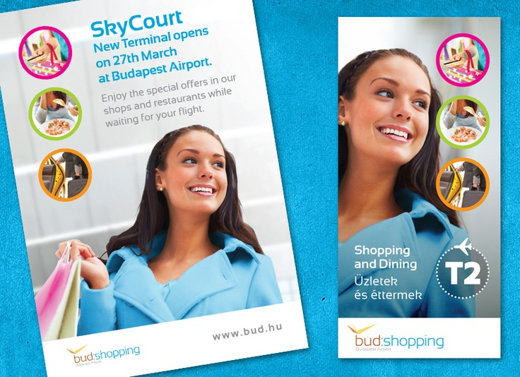Budapest Airport Shopping and dining guide.