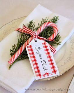 tellastella / Tella S Tella : 15 ideias para decoração de mesa de Natal