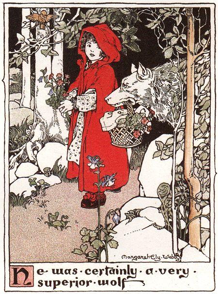 vintage book illustration by Margaret Ely Webb