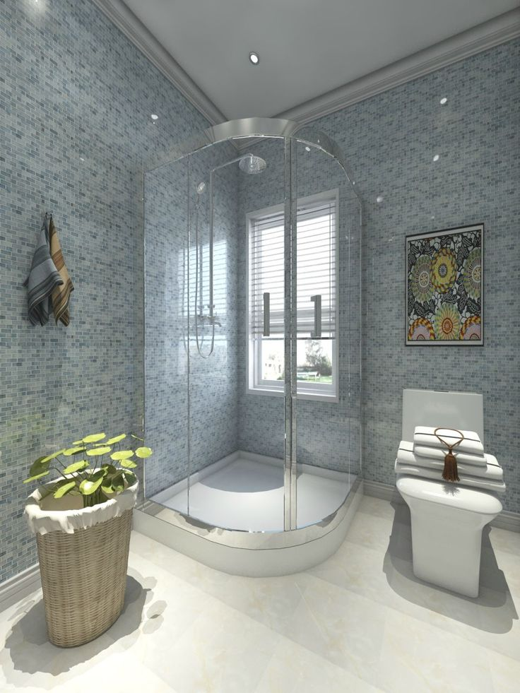 Picture Gallery Website This bathroom is fresh and natural style We produce the tile shower enclosure