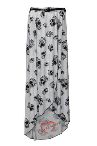 White skull skirt.. I'm in love. ...