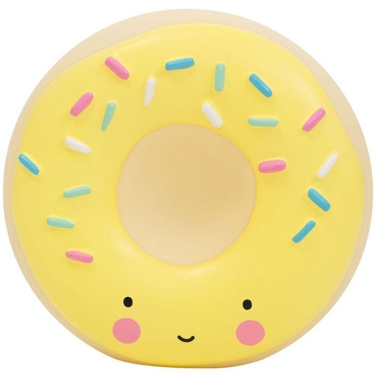A Little Lovely Company Yellow Donut Money Box
