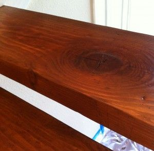 10 tips on DIY wood staining.
