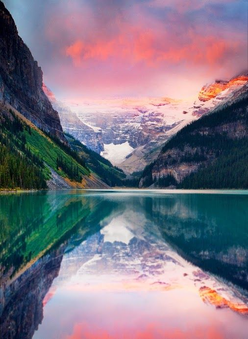 Lake Louise, Alberta, Canada. #budgettravel #travel #color