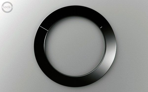 This LED wall clock. | 21 Minimalist Products That Might Turn You On