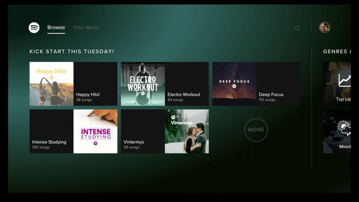 Spotify publie son application pour Android TV - http://www.frandroid.com/android/applications/musique/359032_spotify-publie-application-android-tv  #AndroidTV, #ApplicationsAndroid, #Musique