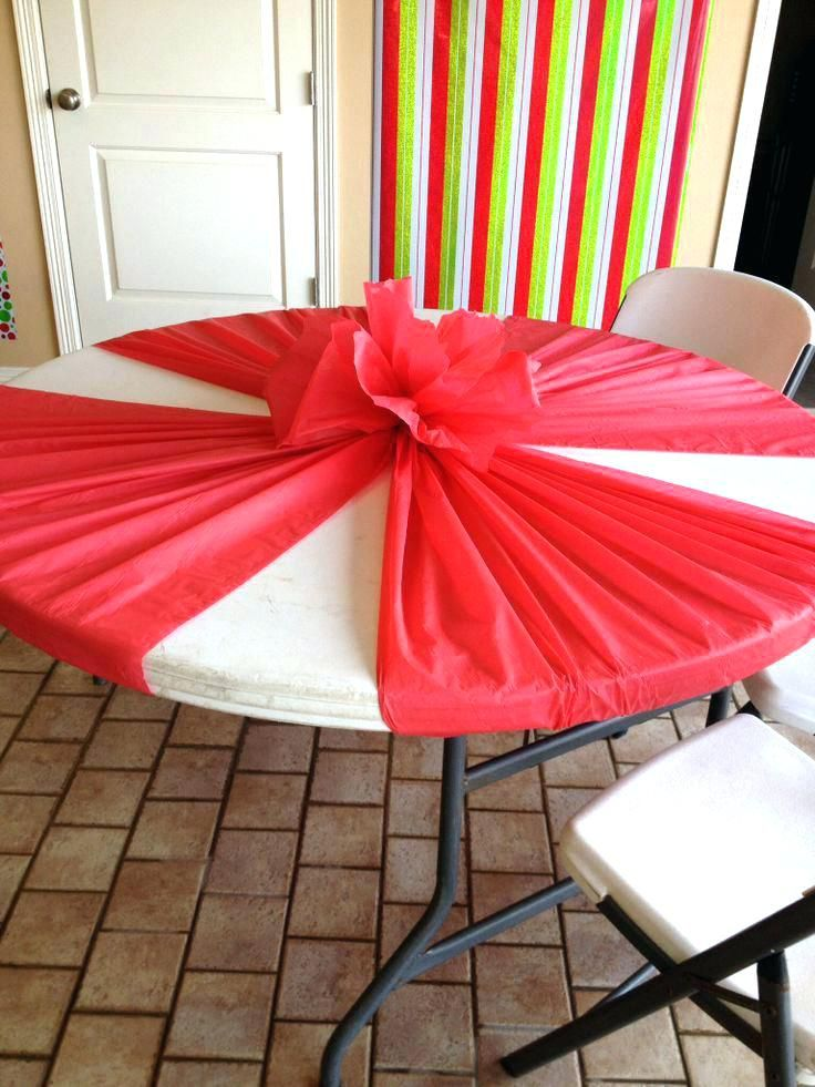 Dining Table Covers Plastic Cool Idea For Decorations Using Just A Cover Could Do