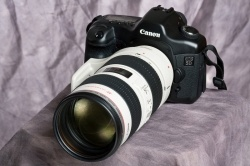 The Canon 70  -200 lens on a Canon body. Want to know how good the Canon 70 - 200 lens is? Check out this excellent article.