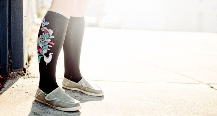 Sock Panda! Receive pairs of bold & unique socks each month. Fun!